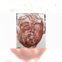 Donald Trump, icône de sang