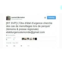 Etat d'urgence : médias français ch. perquisitionnés