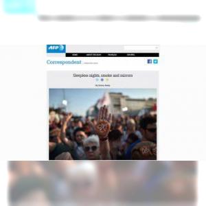 Grèce : nuits d'insomnie et chasse à l'info (blog AFP)