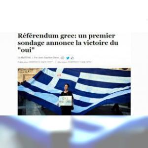 Non : ces 61% que les sondages grecs n'ont pas vu venir