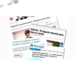 """Entre """"migrants"""" et """"réfugiés"""", la presse balance"""