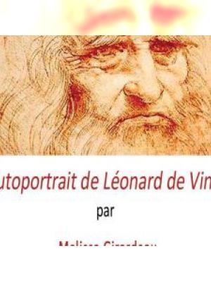 Autoportrait de Léonard de Vinci - Melissa GIRARDEAU